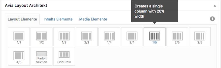 Beispiel WP Pagebuilder