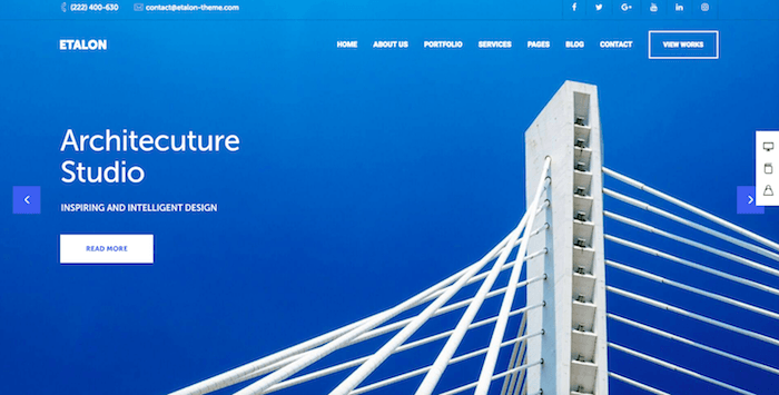 Architekt WP Theme
