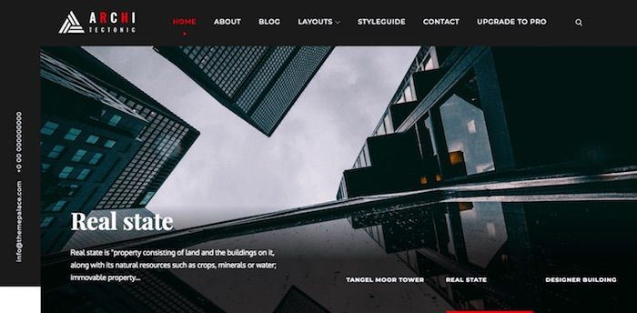 Architekten WordPress