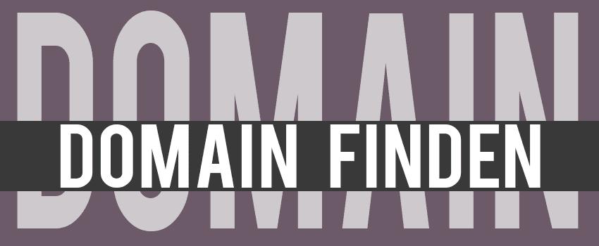 Domain finden für den Blog
