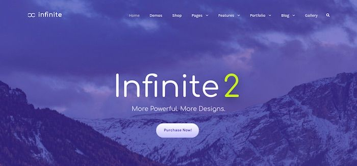 Infinite 2 Theme