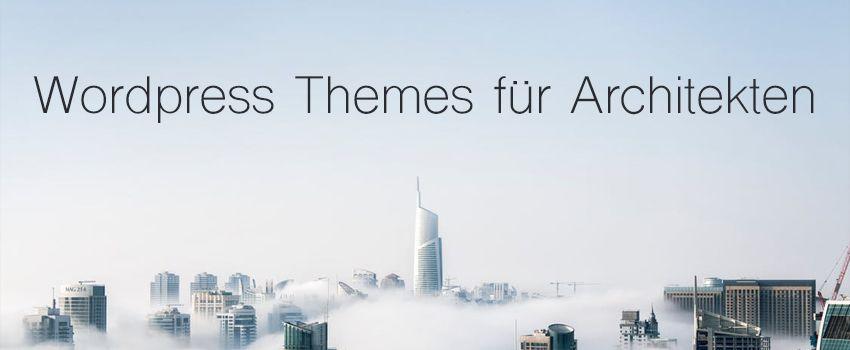 WP Themes für Architekten und Bauunternehmen