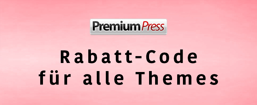 70% Rabatt auf alle PremiumPress Themes [Juni 2018 Coupon Code]