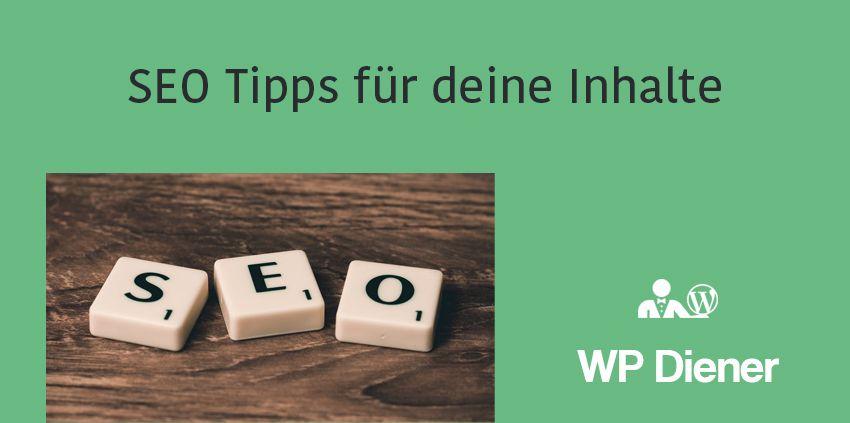 7 SEO Tipps für deine Blogartikel