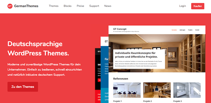 GermanThemes: Neuer Themeshop vom ThemeZee-Macher