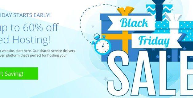 Bluehost Black Friday Rabatt (bis zu 60% günstiger)